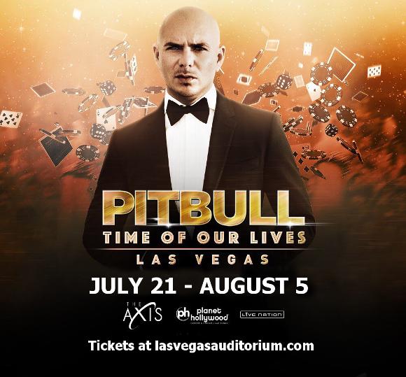pitbull time of our lives las vegas