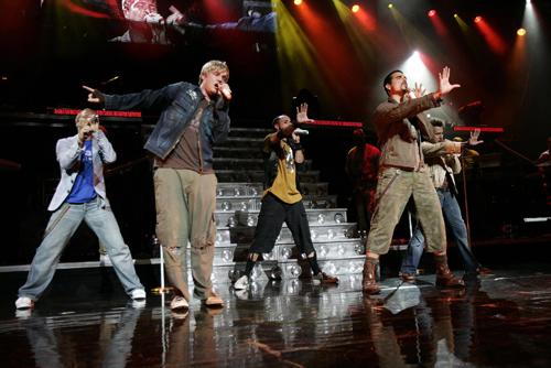 Backstreet Boys at The AXIS