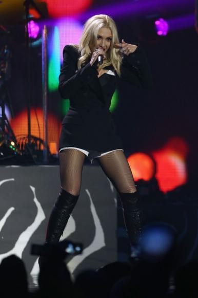 Gwen Stefani at The AXIS