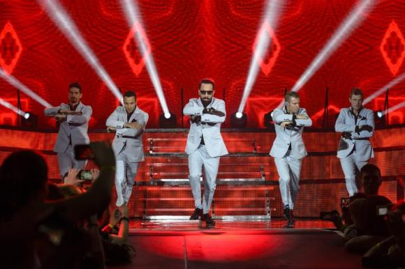 Backstreet Boys at Zappos Theater at Planet Hollywood