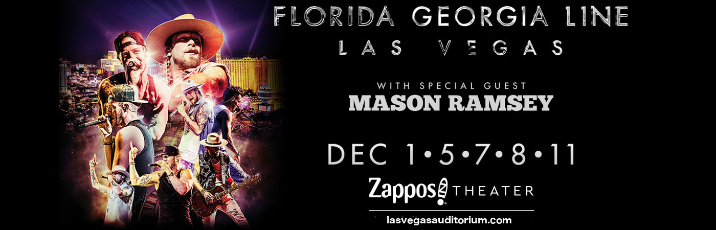 Florida Georgia Line & Mason Ramsey at Zappos Theater at Planet Hollywood