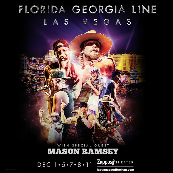 Florida Georgia Line & Mason Ramsey at Zappos Theater at Planet Hollywood