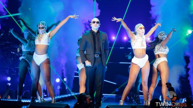 Pitbull at Zappos Theater at Planet Hollywood