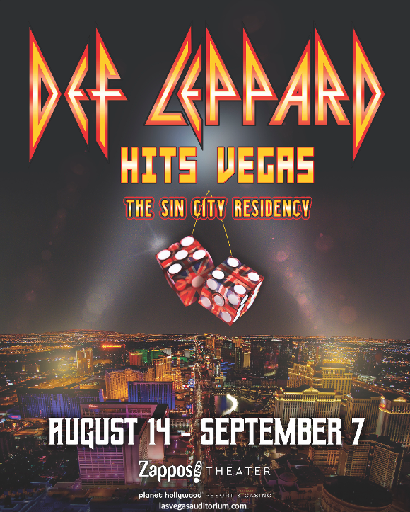 def leppard sin city residency show las vegas zappos theater live tickets