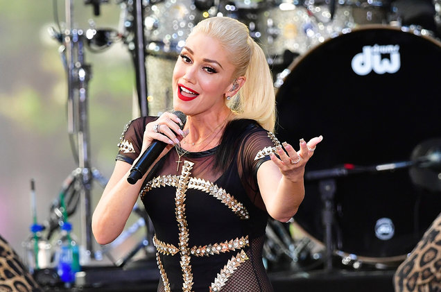 Gwen Stefani at Zappos Theater at Planet Hollywood