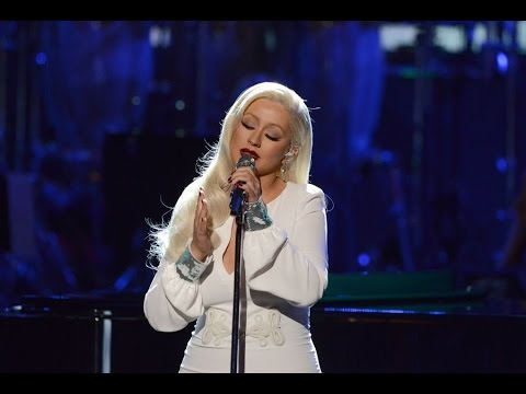 Christina Aguilera at Zappos Theater at Planet Hollywood