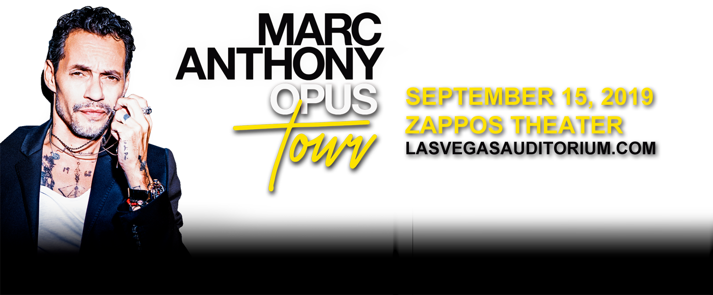 Marc Anthony at Zappos Theater at Planet Hollywood