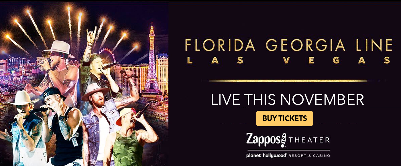 Florida Georgia Line at Zappos Theater at Planet Hollywood