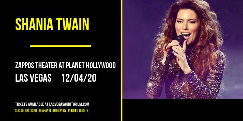Shania Twain at Zappos Theater at Planet Hollywood