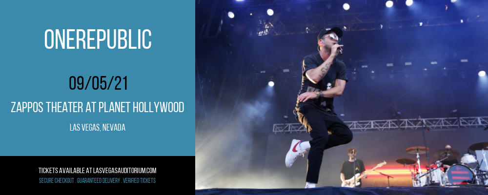 OneRepublic at Zappos Theater at Planet Hollywood