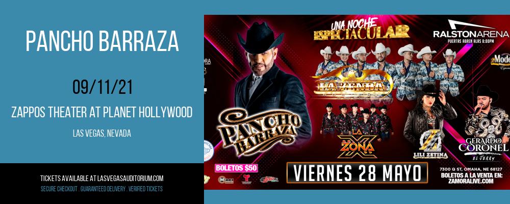 Pancho Barraza at Zappos Theater at Planet Hollywood