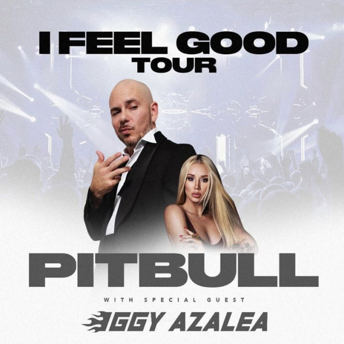 Pitbull & Iggy Azalea at Zappos Theater at Planet Hollywood
