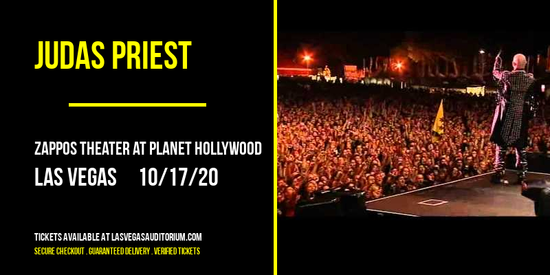 Judas Priest [POSTPONED] at Zappos Theater at Planet Hollywood